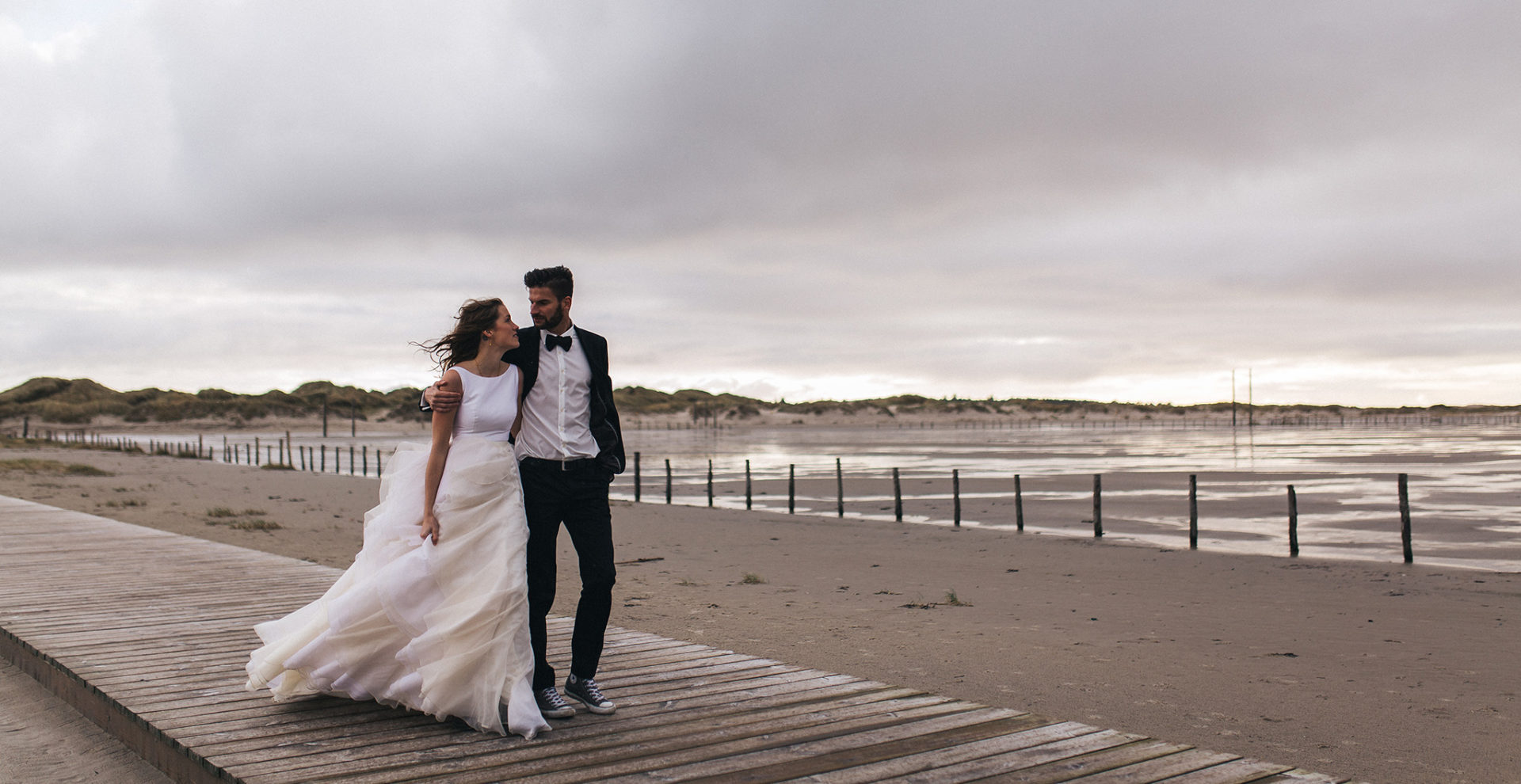 Destination elopement photographer-europa wedding photographer-beach wedding-elfenkleid bride-couture gown handmade