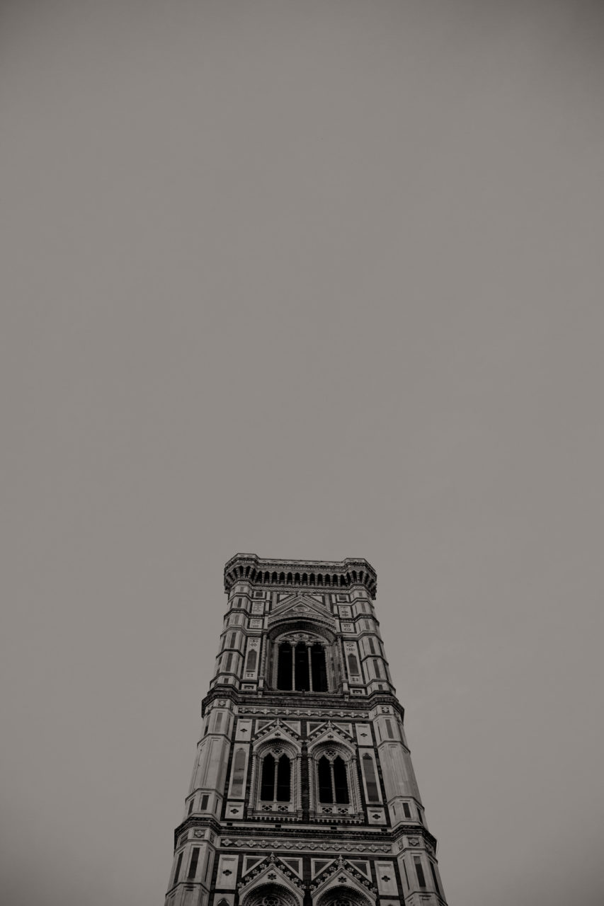 wedding photographer tuscany-italy road trip with dogs-region-florence church tower lorenzo
