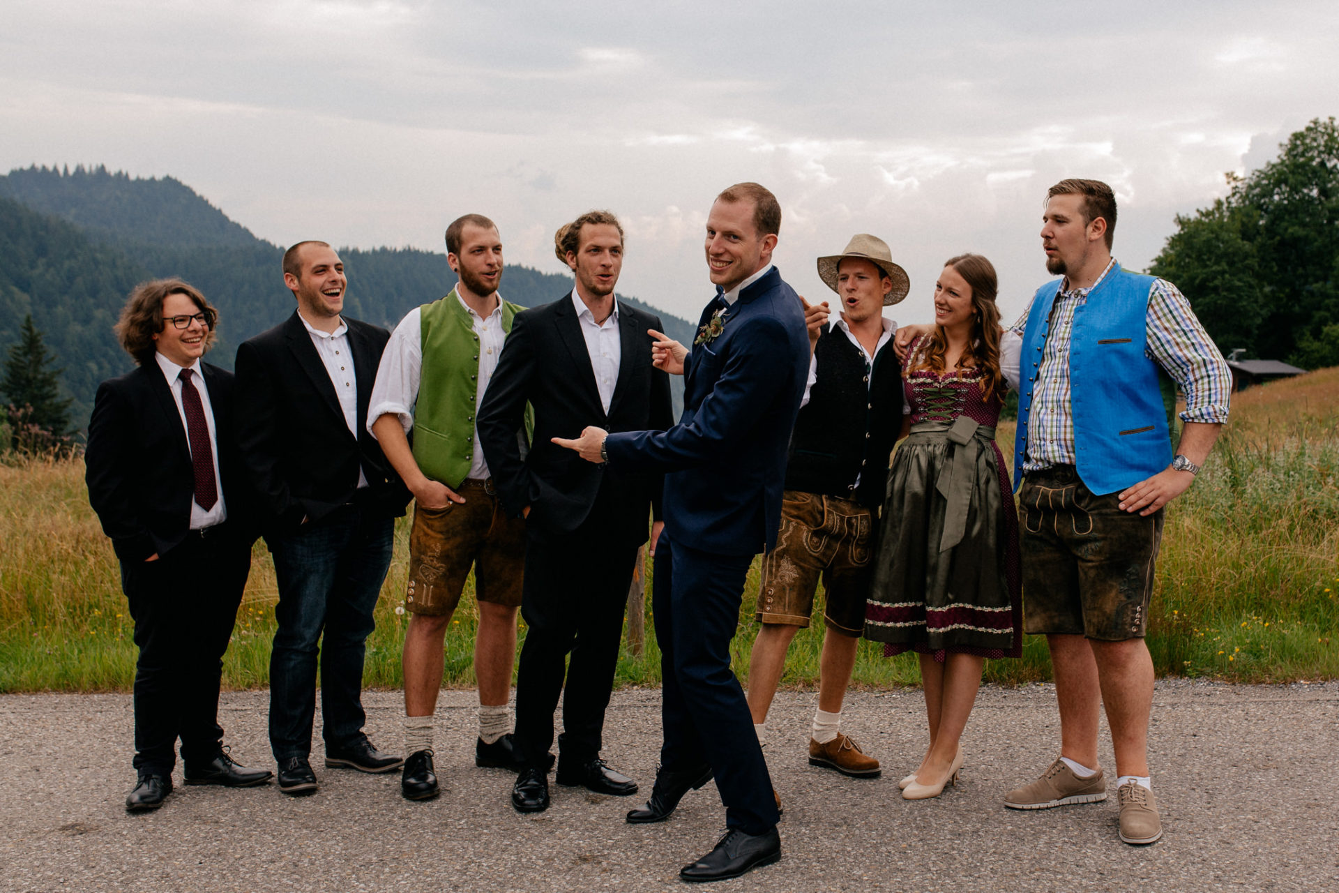 wedding photographer Lech Arlberg-mountainwedding-family photos