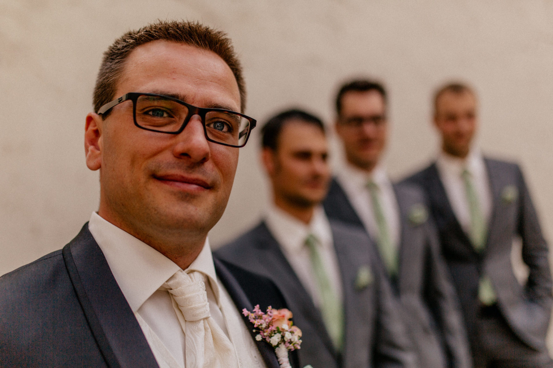stuttgart wedding photographer-Castle Wedding Germany-Blackforest marriage-schloss heinsheim groom with groomsmen