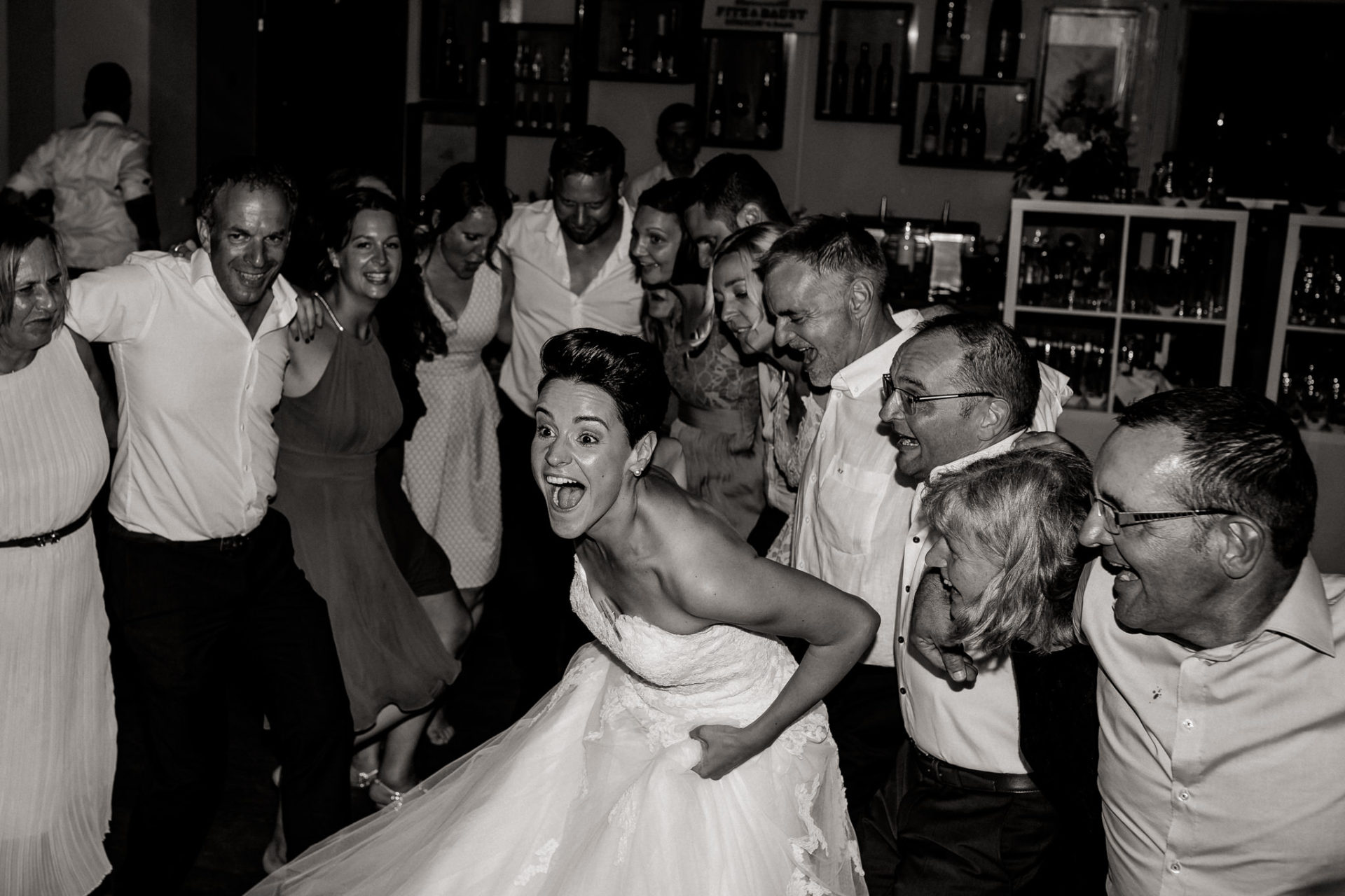 vineyard wedding germany-weingut fitz ritter wedding photographer pfalz party bride dancing