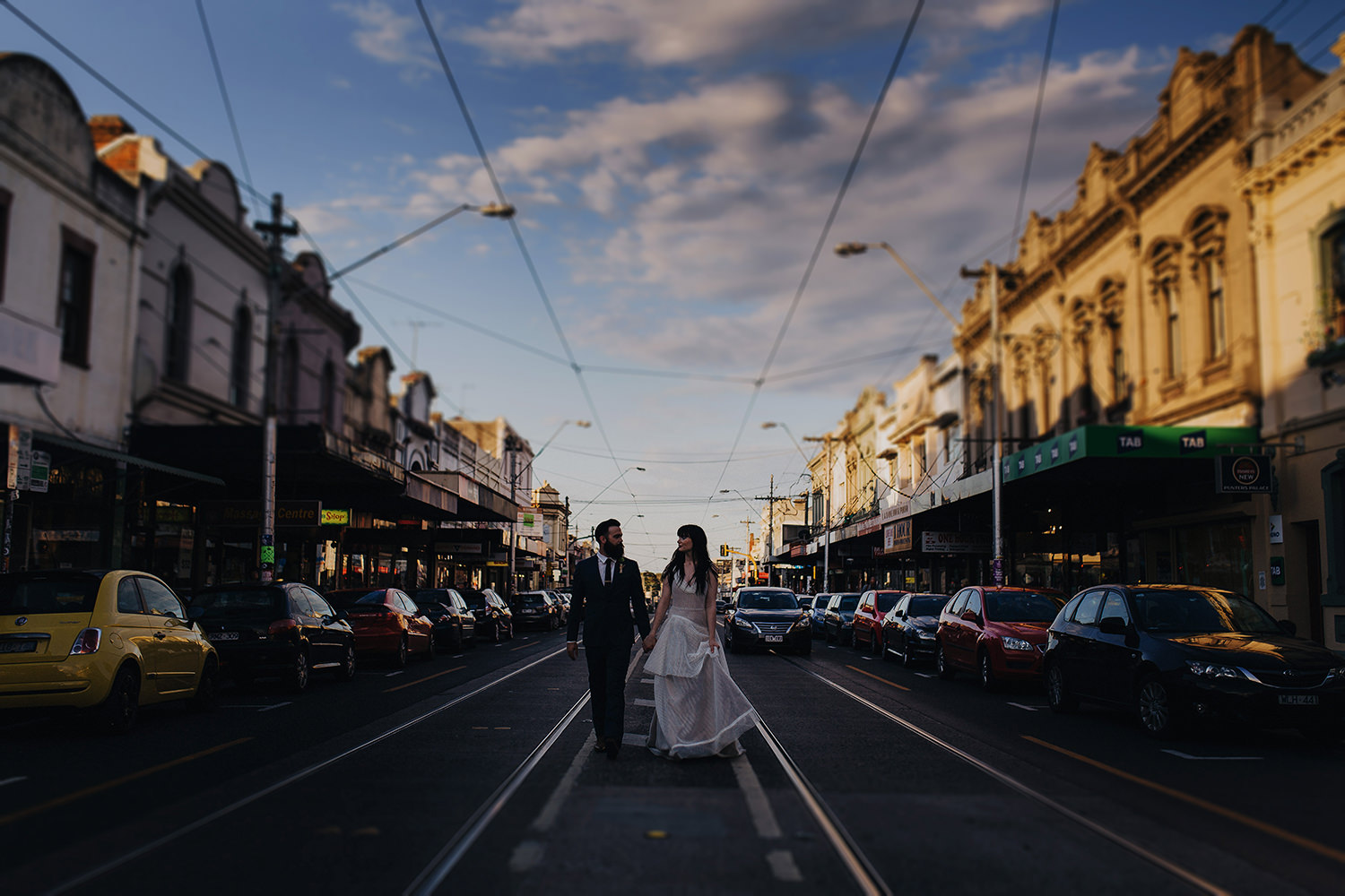 melbourne wedding photographer-collingwood portrait session