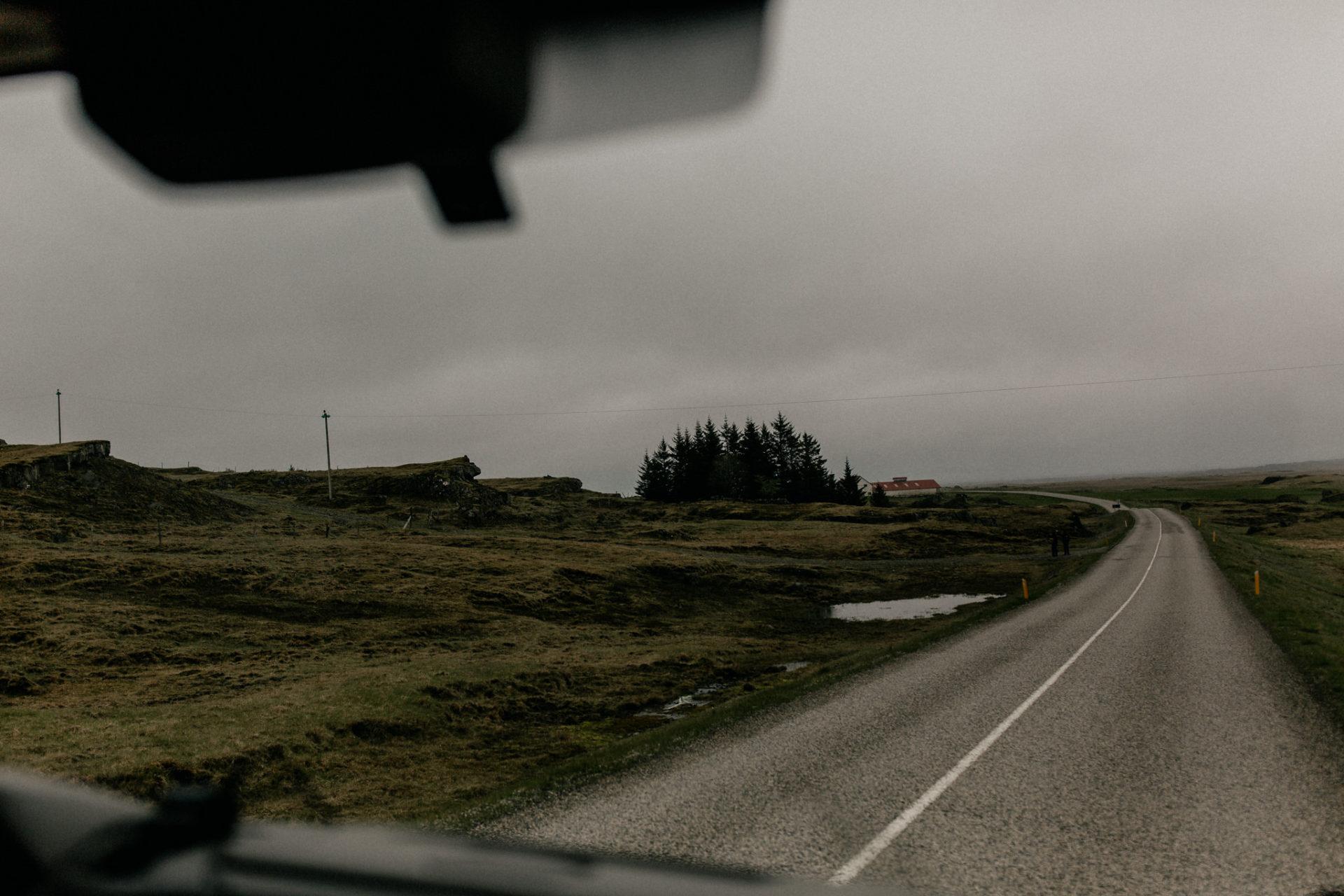 Iceland road trip camper van