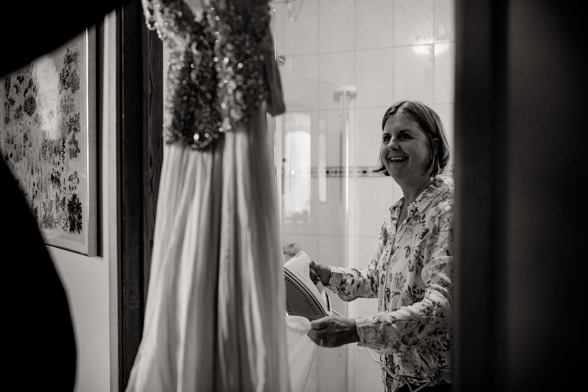 iceland wedding photographer-hella wedding ceremony-getting ready bride