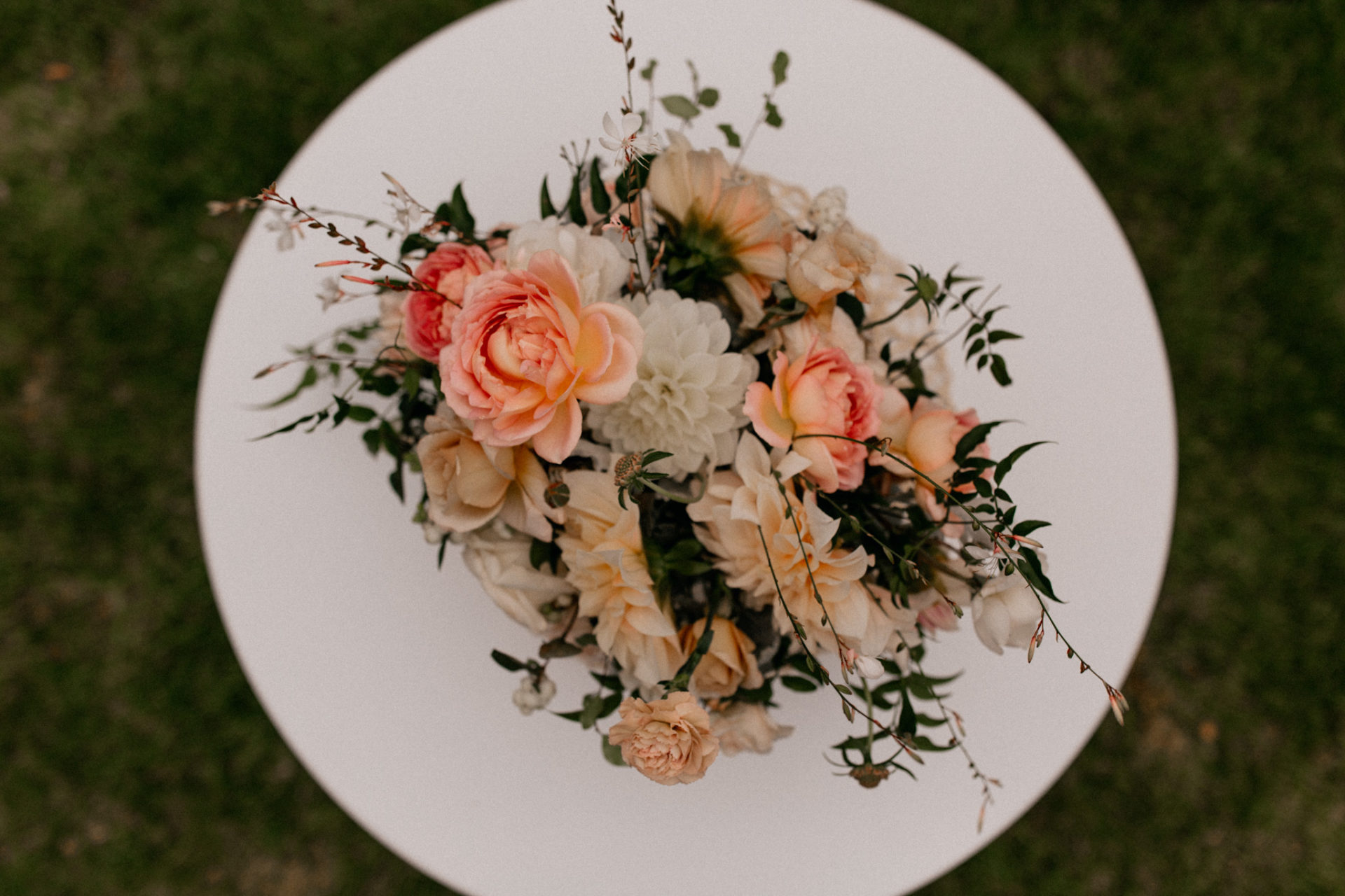 Melbourne Wedding Photographer-Queenscliff DIY garden wedding-bridal bouquet
