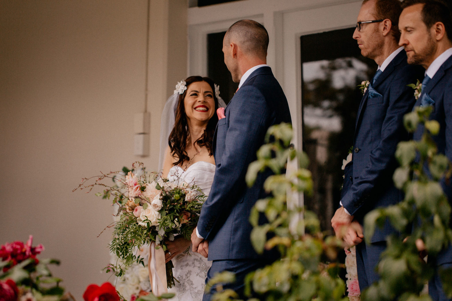 Melbourne Wedding Photographer-Queenscliff DIY garden wedding-ceremony