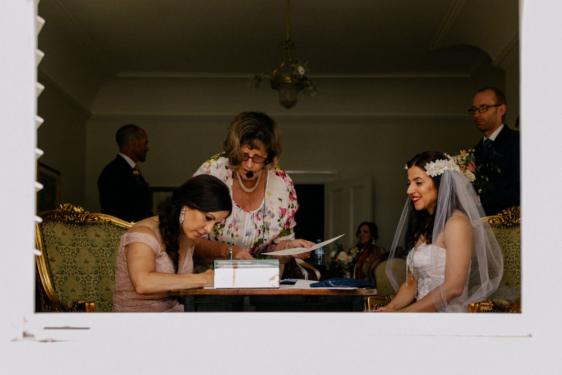 Melbourne Wedding Photographer-Queenscliff DIY garden wedding