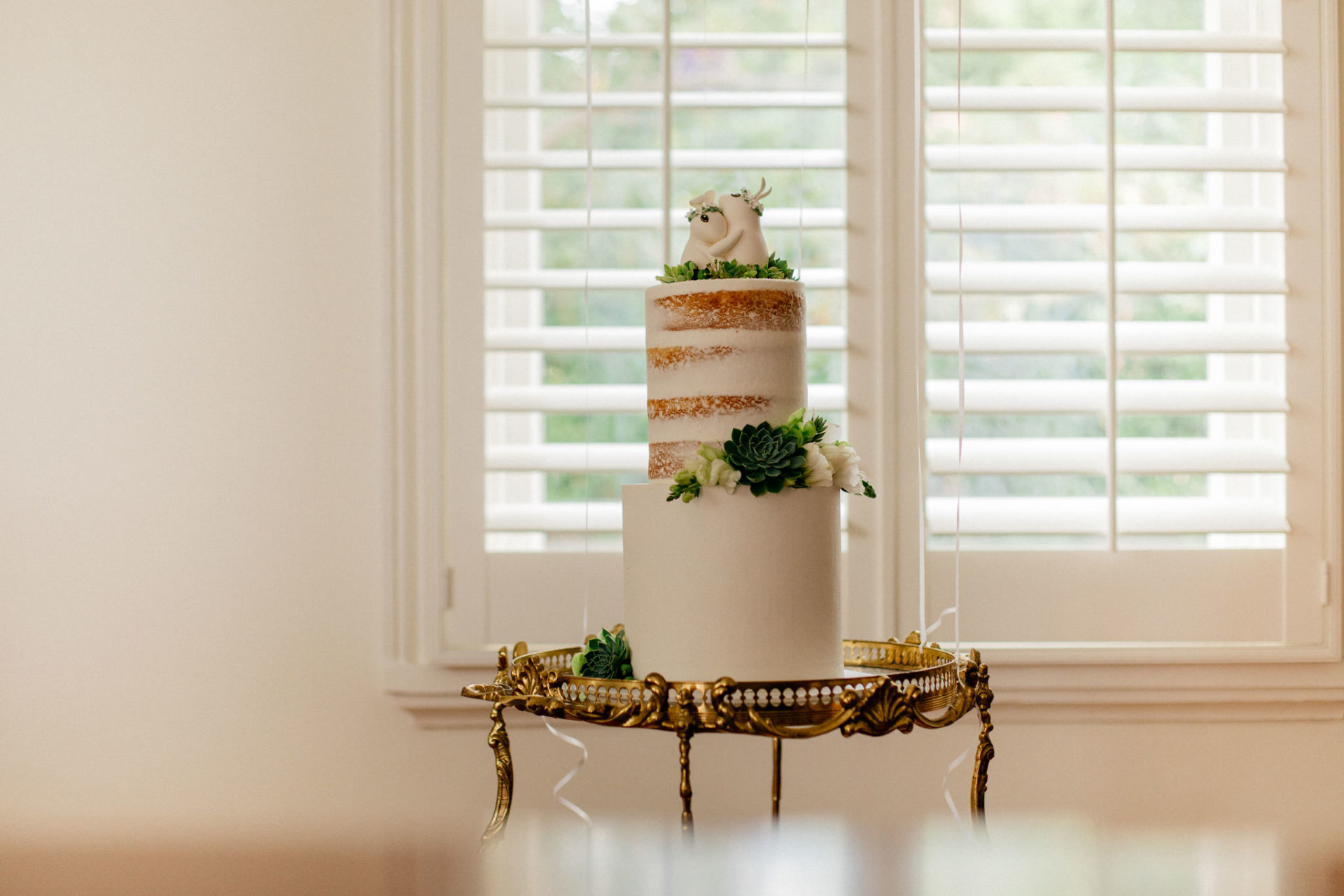 Melbourne Wedding Photographer-Queenscliff DIY garden wedding-wedding cake