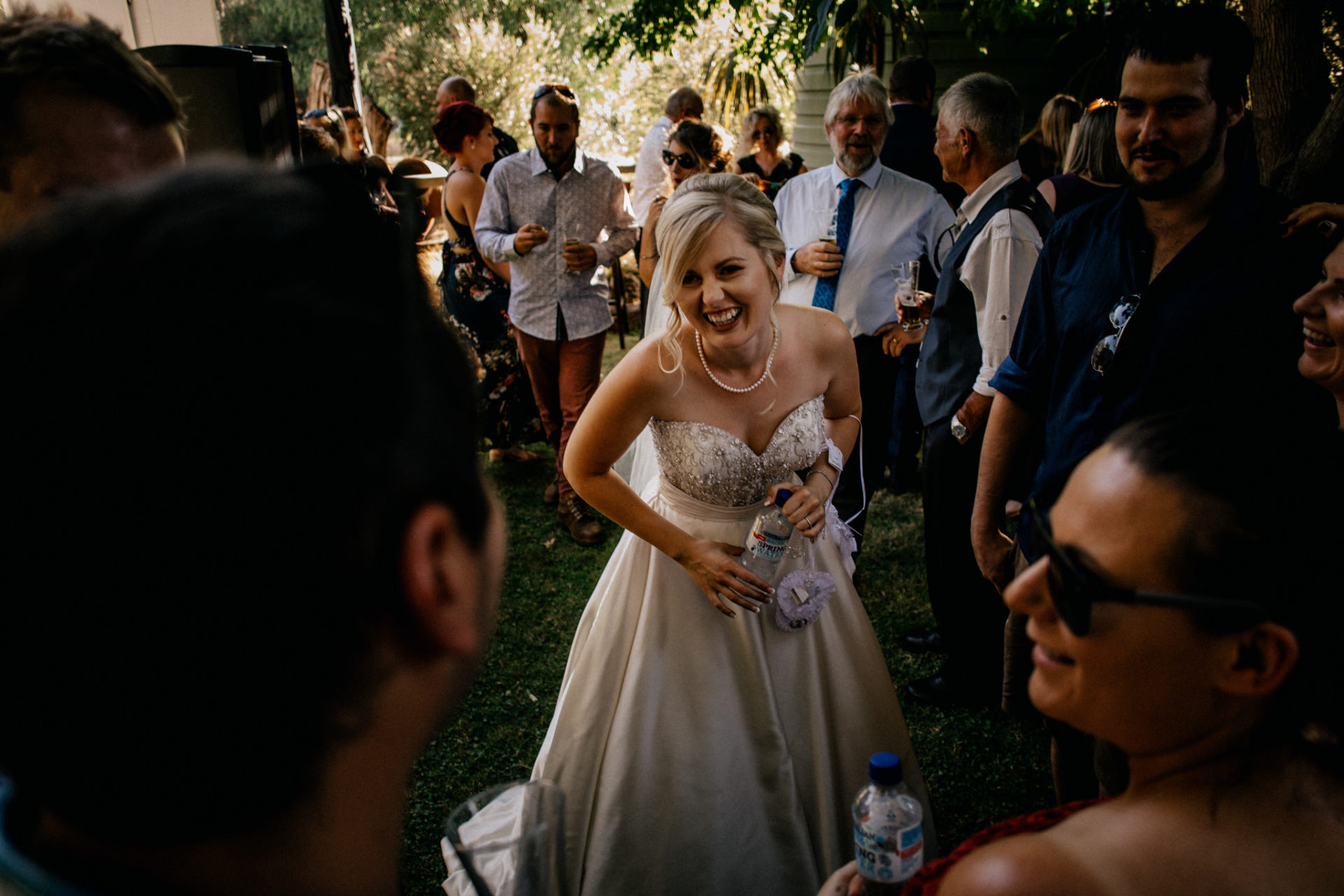 backyard-wedding-australia-melbourne-bride-laughing-with-guests