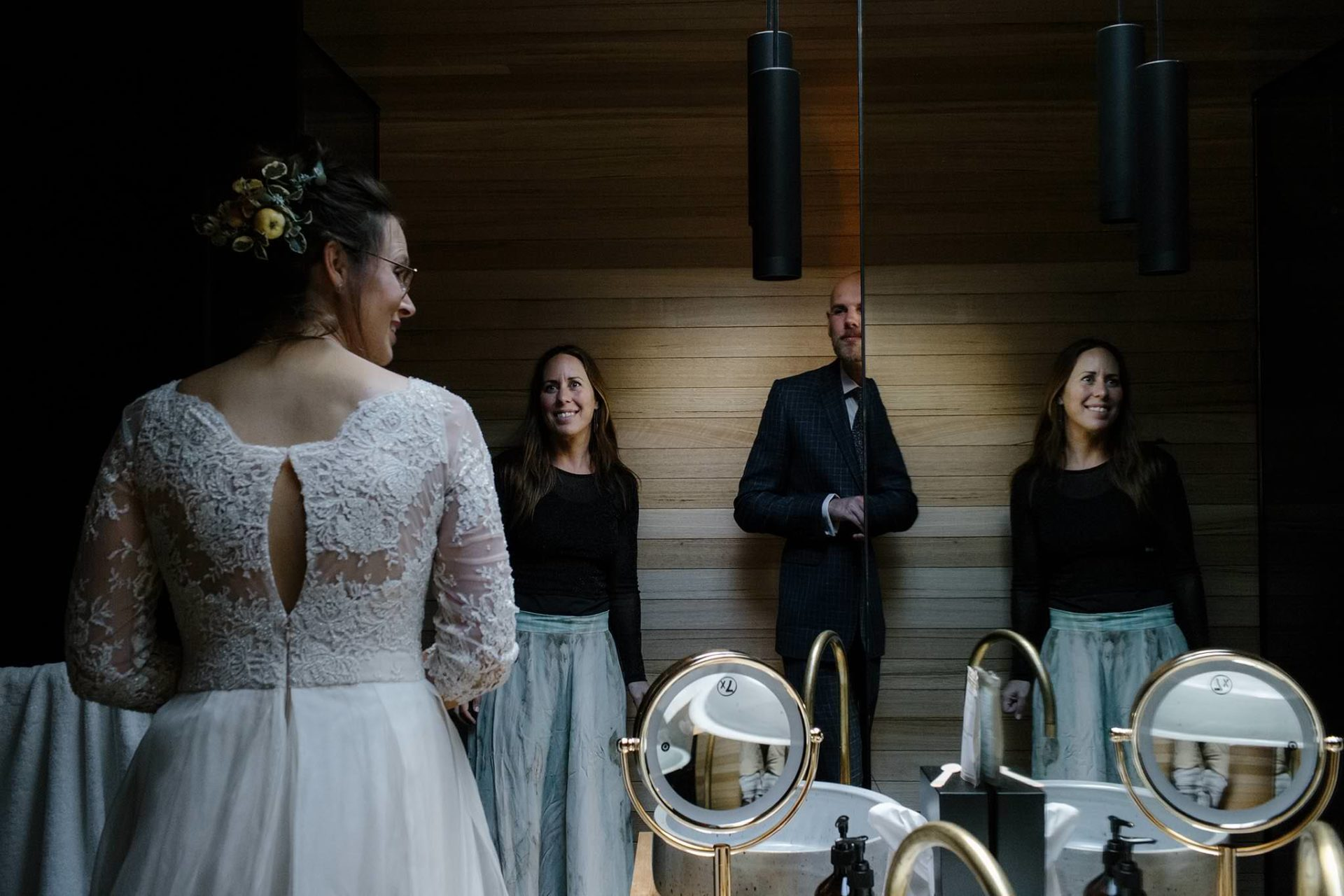 marriage celebrant tasmania-elopement pumphouse point-merren wilkinson-cinta celebrate love-wedding vows