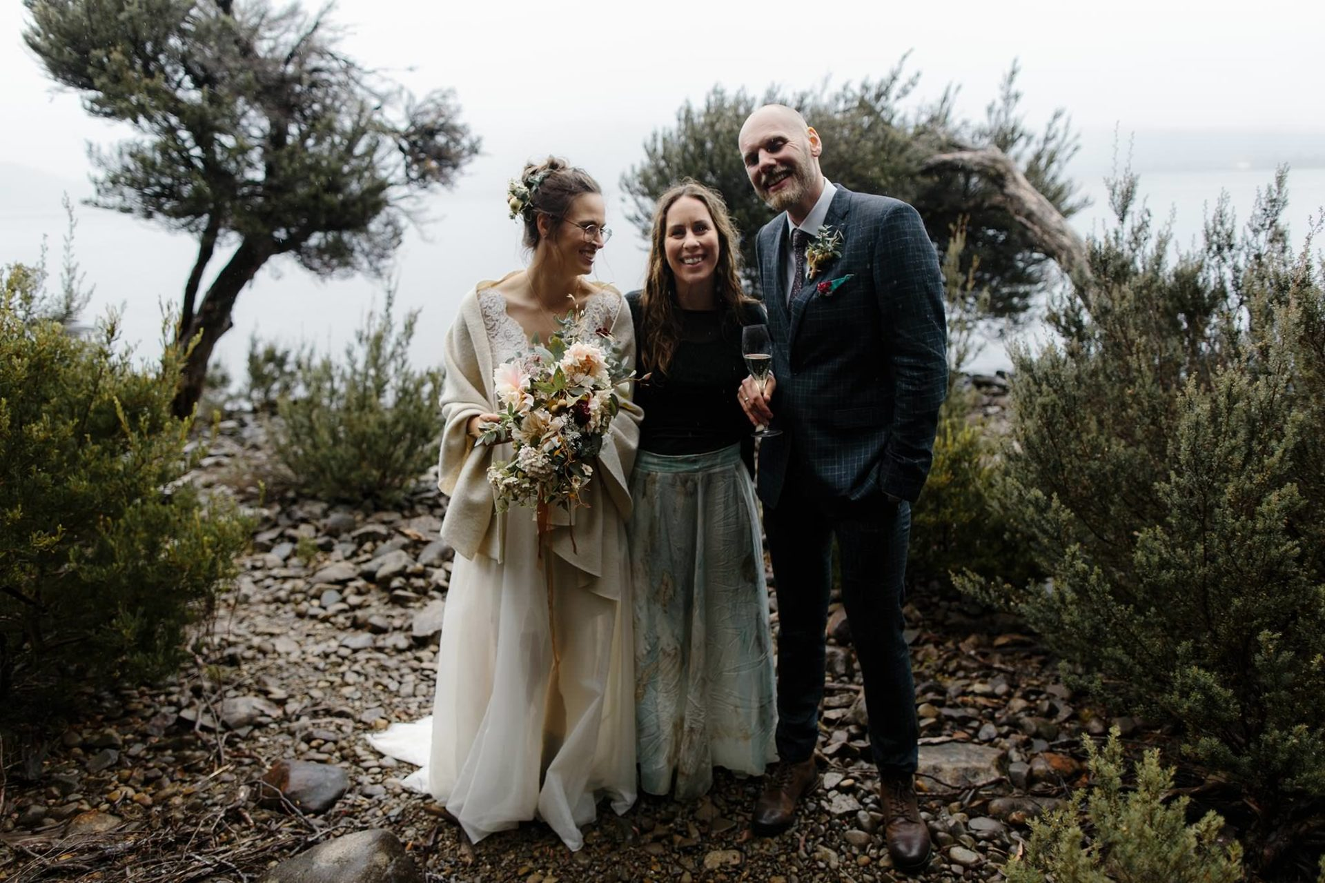 marriage celebrant tasmania-elopement pumphouse point-merren wilkinson-cinta celebrate love-wedding vows